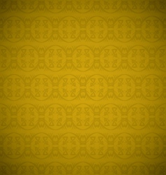 gold repeat vector image vector image