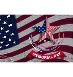 memorialday8 vector image vector image
