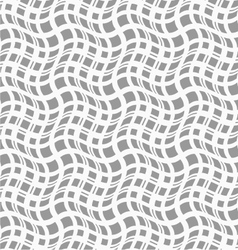 Slim gray wavy squares in different sizes vector image vector image