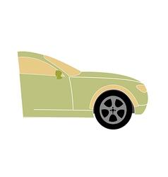 icon car vector image