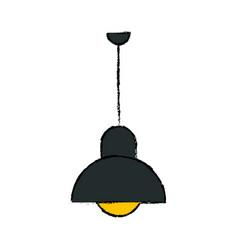 Lamp office hanging light decoration vector