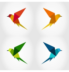 Bird abstraction3 vector image
