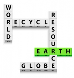World recycle vector