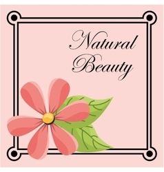 Natural beauty vector