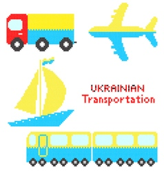 Ukrainian transportation vector