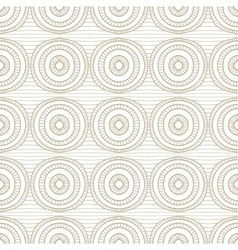Abstract seamless hand drawn beige pattern vector