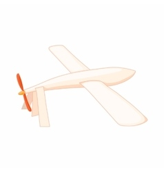 Glider icon in cartoon style vector