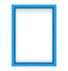 Rope border vector