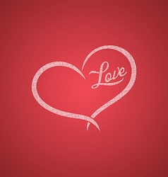 happy valentine greetings vector image vector image