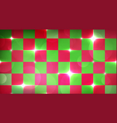 merry christmas wrapping background with red and vector image