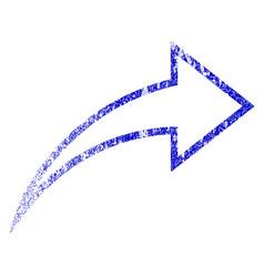 Redo grunge textured icon vector