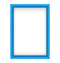 Rope Border vector image vector image