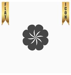 Swirl icon vector image