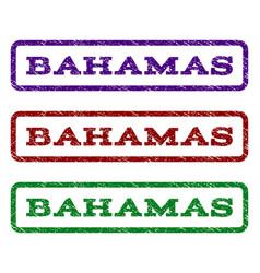 Bahamas watermark stamp vector