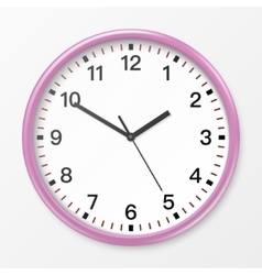 wall office clock vector image