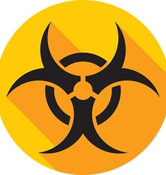 Hazard Icon vector image
