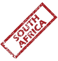 New south africa rubber stamp vector