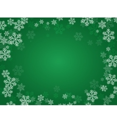 Christmas background green vector