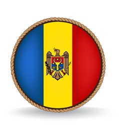 Moldova seal vector