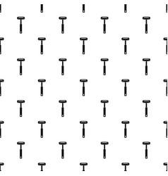 reflex hammer pattern vector image