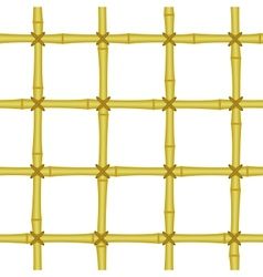 bamboo grating lattice seamless background vector image vector image