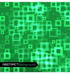 Green geometric abstract background vector