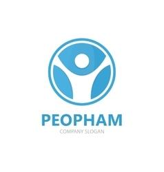 man logo Man logo design People logo vector image vector image