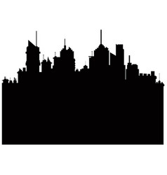Pictogram city landscape building skyscraper vector