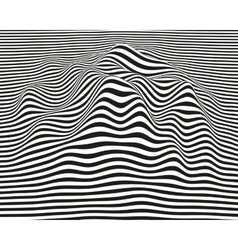 Abstract Waves Background vector image