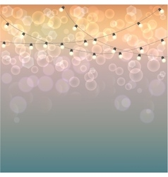 Bokeh blurred background vector image