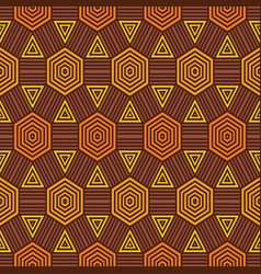 african fabric pattern vector image