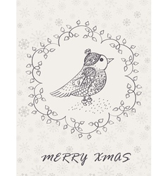 Marry Christmas Card vector image vector image
