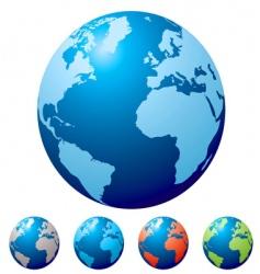 Multi globe vector