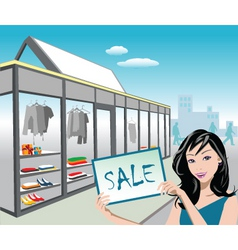 Shop sale vector