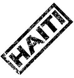 Haiti rubber stamp vector