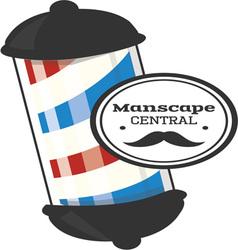 Manscape central vector