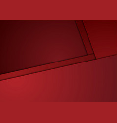 Tech corporate red minimal material background vector