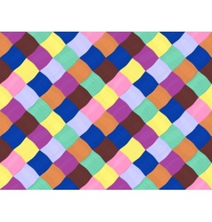yarn pattern vector image