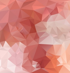 Opal orange polygonal triangular pattern vector
