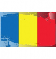 Romania national flag vector