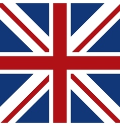 flag icon United kingdom design graphic vector image vector image