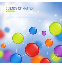Science Background vector image