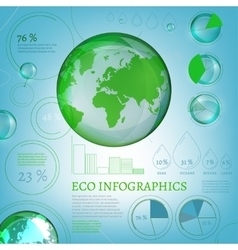01 infographics bio world vector