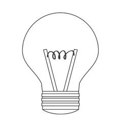 Light bulb lightbulb idea icon vector