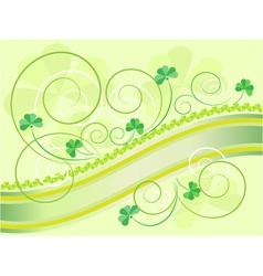 Cards on the day of Saint Patrick vector image
