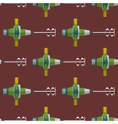 construction mixer seamless pattern vector image vector image