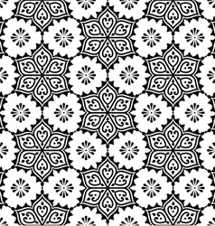 Indian seamless pattern repetitive Mehndi design vector image vector image