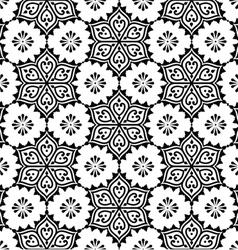 Indian seamless pattern repetitive mehndi design vector