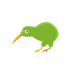 Kiwi Bird Toy Exotic Animal Drawing vector image vector image