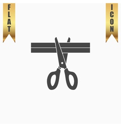 Presentation - Scissors and Cutting vector image